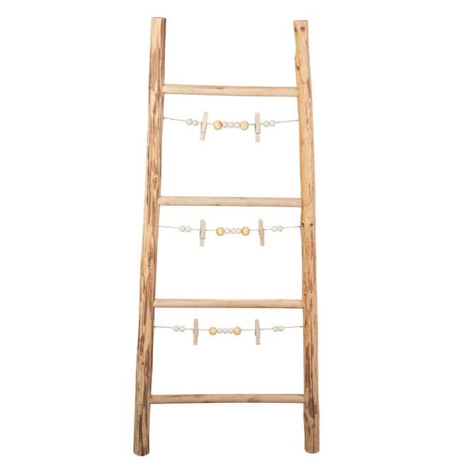 Dekoleiter - aus Holz - ca. 44,5 x 4,5 x 100 cm