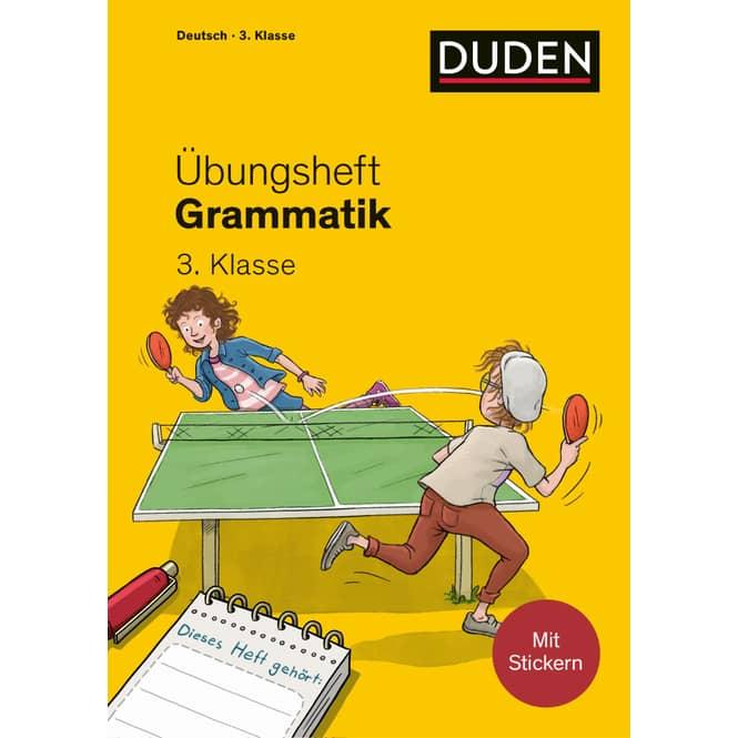 Duden - Übungsheft Grammatik - 3.Klasse