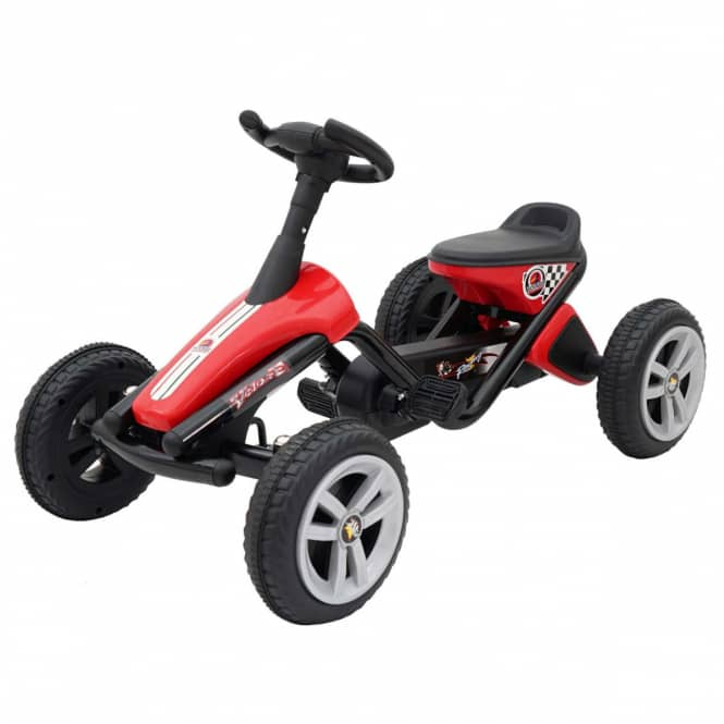 Mini Go-Kart - schwarz/rot