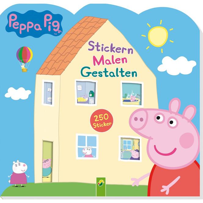 Peppa Pig - Stickern, Malen, Gestalten