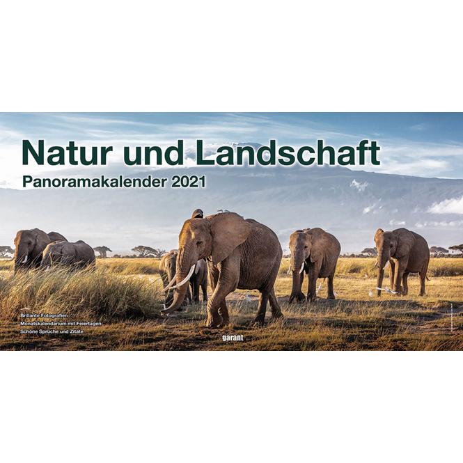 Panoramakalender - Natur und Landschaft 2021