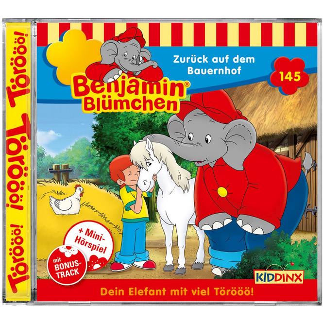 Benjamin Blümchen - Hörspiel CD - Folge 145 - Zurück auf dem Bauernhof
