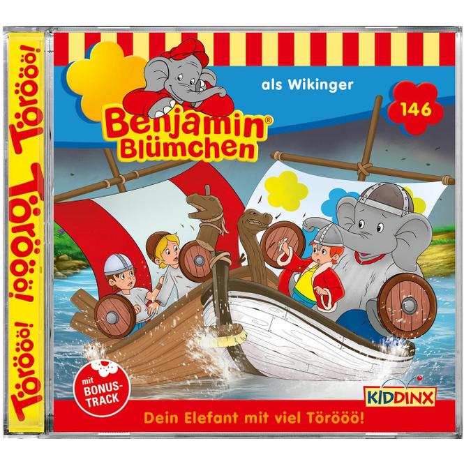 Benjamin Blümchen - Hörspiel CD - Folge 146 - als Wikinger