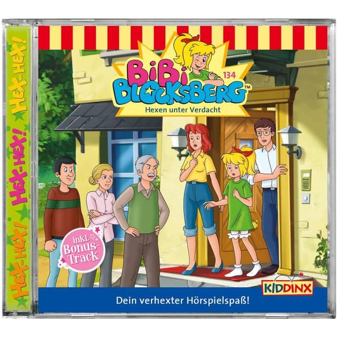 Bibi Blocksberg - Hörspiel CD - Folge 134 - Hexen unter Verdacht