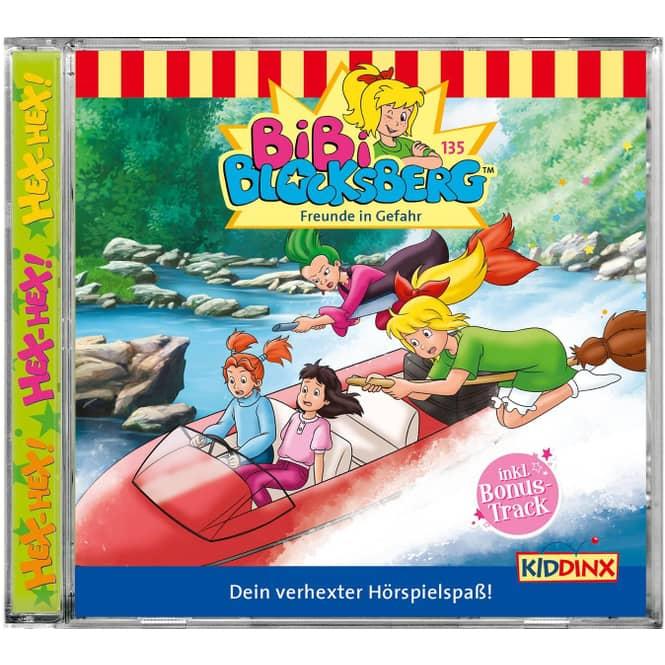 Bibi Blocksberg - Hörspiel CD - Folge 135 - Freunde in Gefahr
