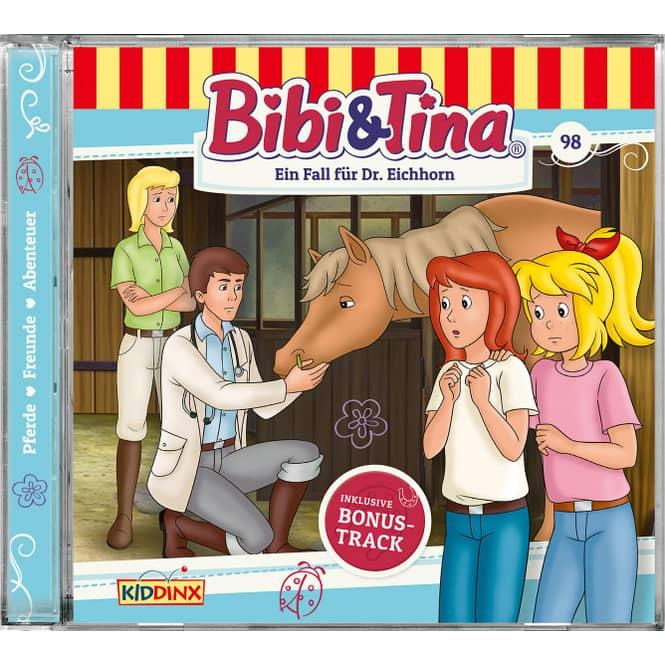 Bibi und Tina - Hörspiel CD - Folge 98 - Ein Fall für Dr. Eichhorn