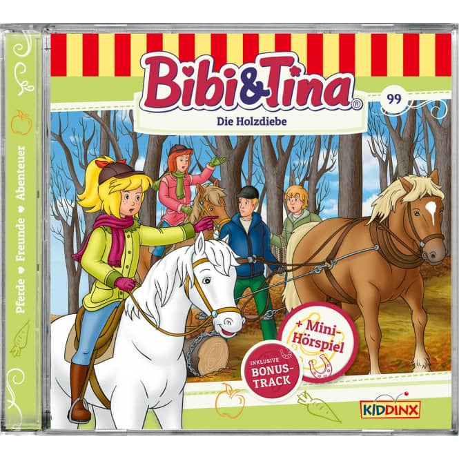 Bibi und Tina - Hörspiel CD - Folge 99 - Die Holzdiebe