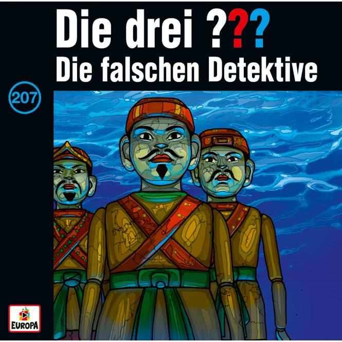 Die drei ??? - Hörspiel CD - Folge 207 - Die falschen Detektive