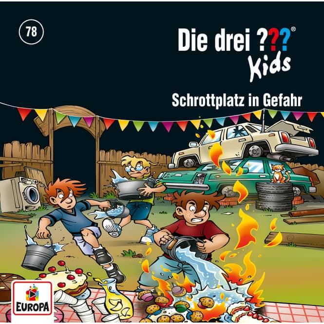 Die drei ??? - Hörspiel CD - Folge Kids 78 - Schrottplatz in Gefahr