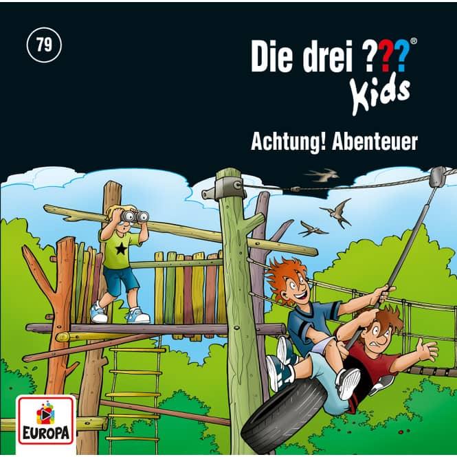 Die drei ??? - Hörspiel CD - Folge Kids 79 - Achtung, Abenteuer!