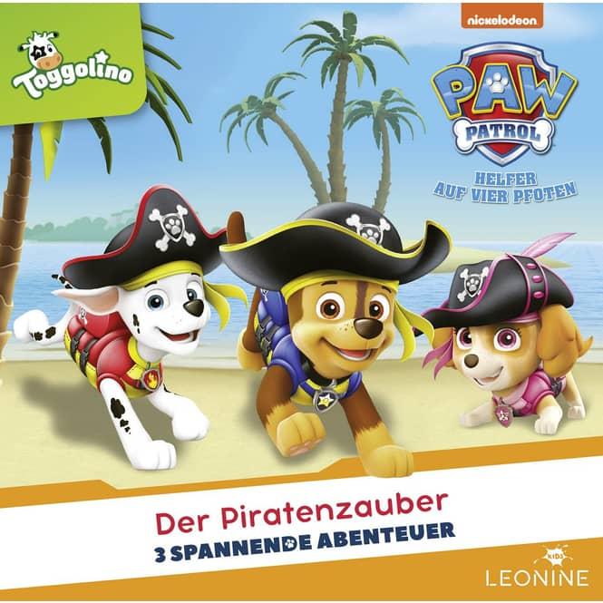 Paw Patrol - Hörspiel CD - Folge 25 - Der Piratenzauber