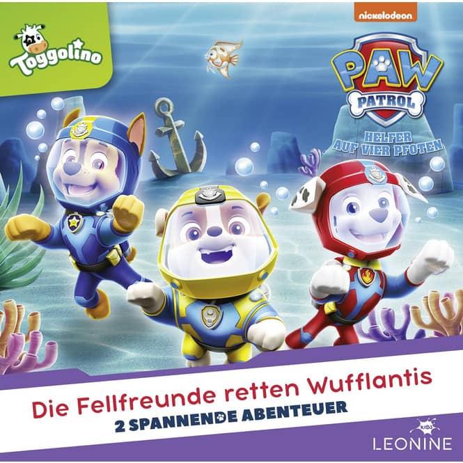 Paw Patrol - Hörspiel CD -  Folge 26 - Die Fellfreunde retten Wufflantis