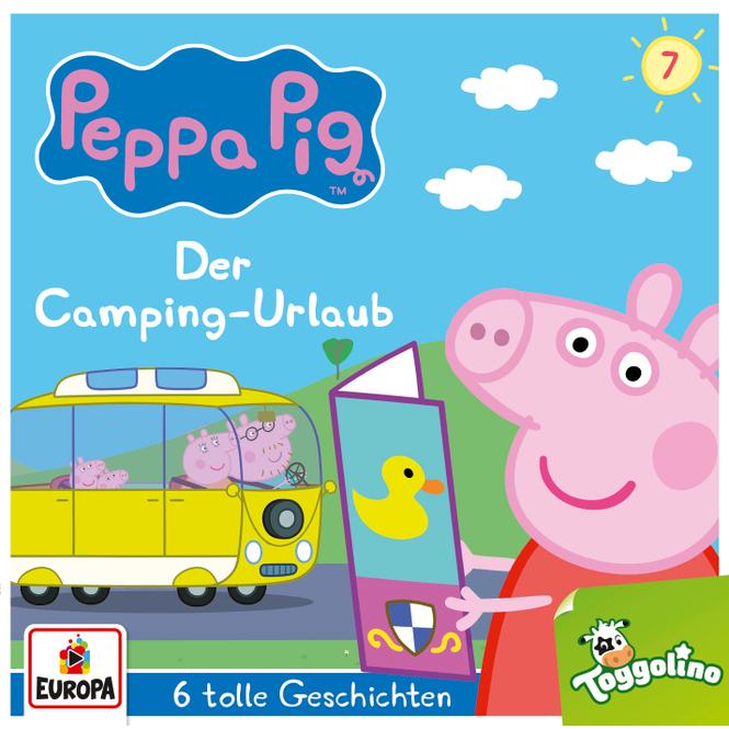 Peppa Wutz - Hörspiel CD - Folge 7 - Der Camping-Urlaub