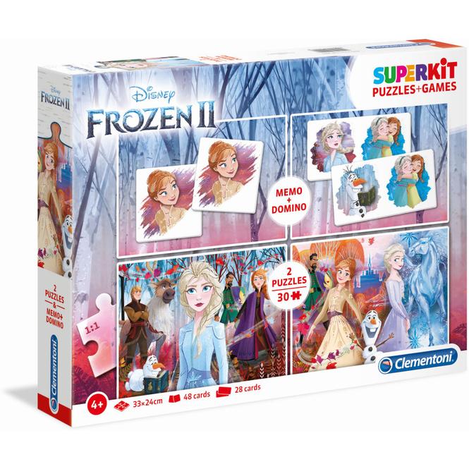 Die Eiskönigin 2 - Superkit - Puzzle und Spiele