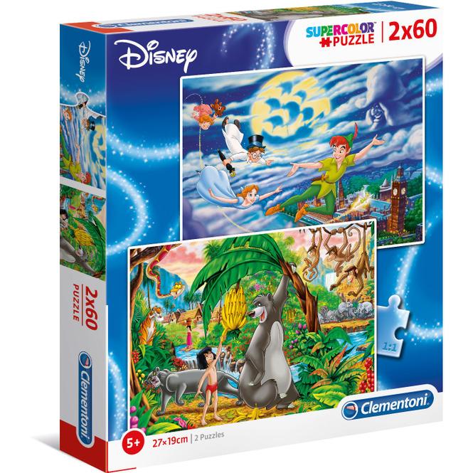 Disney Puzzle - Klassiker - 2 x 60 Teile
