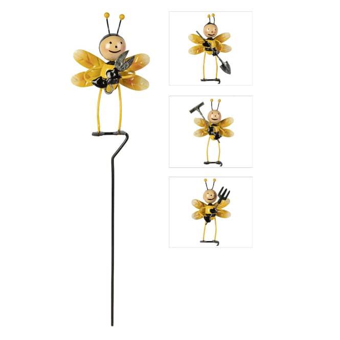 Pflanzenstecker - Biene - ca. 7,5 x 32 cm - 1 Stück