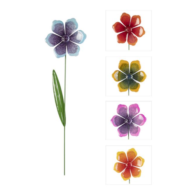 Pflanzenstecker - Blume - ca. 15 x 58 cm - 1 Stück