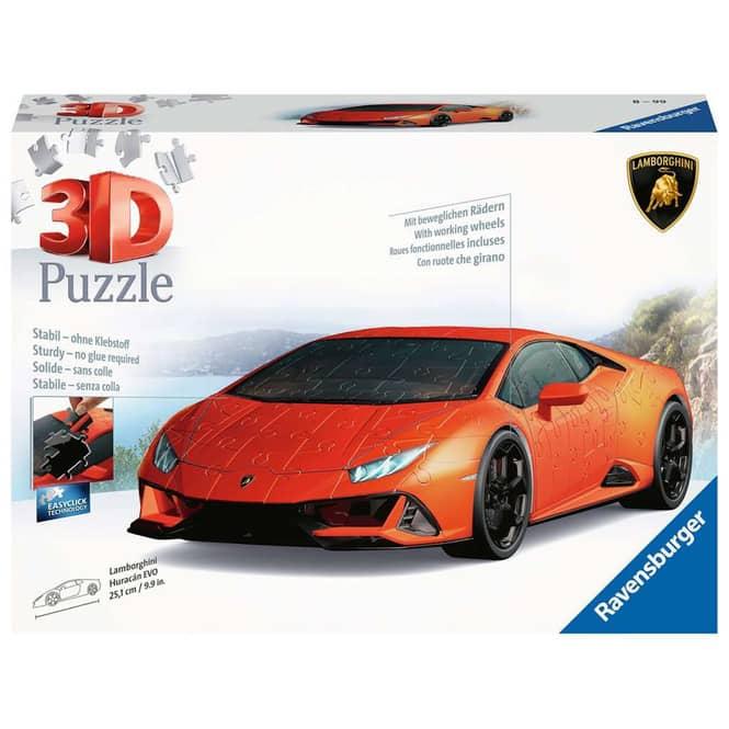 3D Puzzle - Lamborghini - 108 Teile