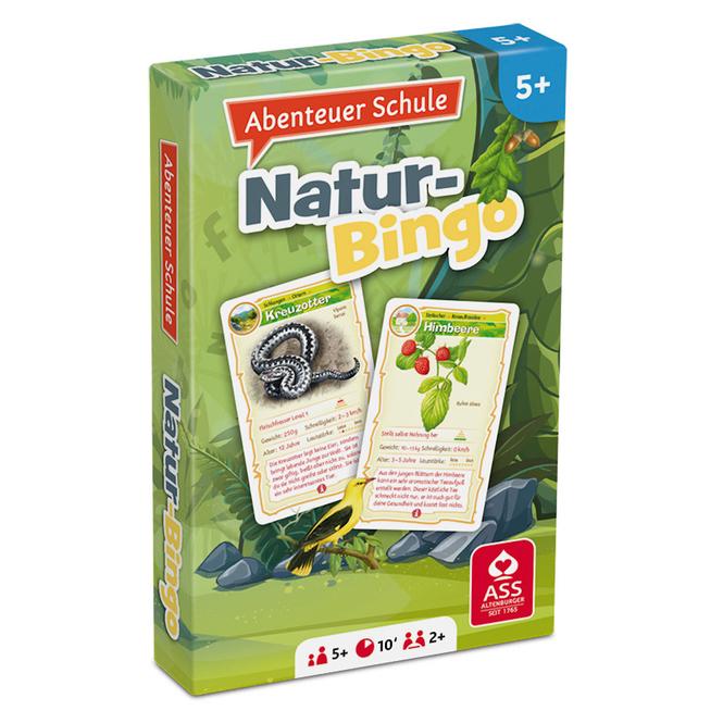 Abenteuer Schule - Natur Bingo - Kartenspiel