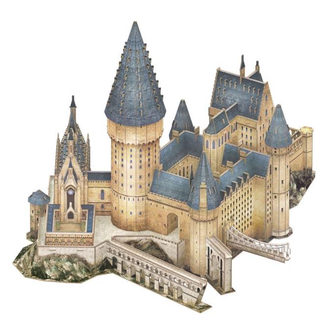 Harry Potter - 3D Puzzle - Hogwarts Große Halle