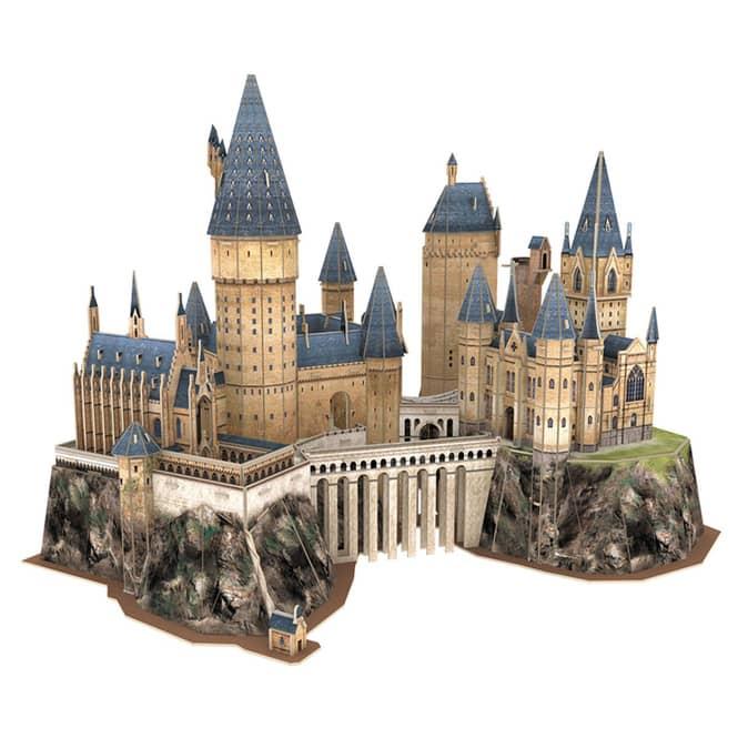 Harry Potter - 3D Puzzle - Schloss Hogwarts