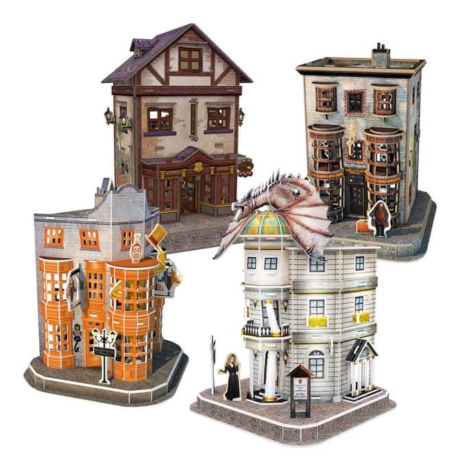 Harry Potter - 3D Puzzle - Winkelgasse