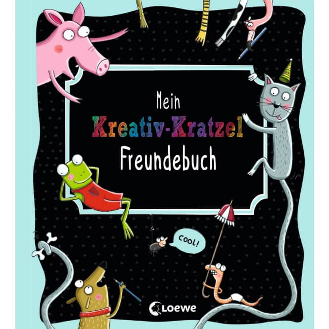 Mein Kreativ-Kratzel Freundebuch