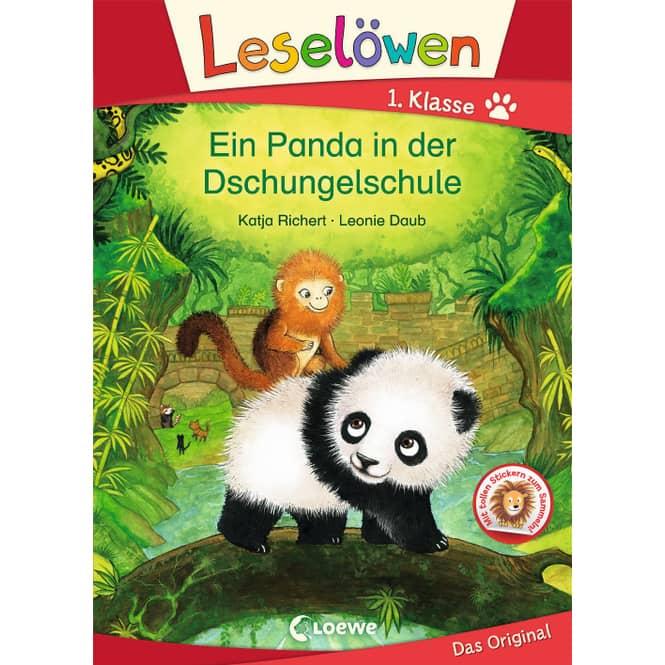 Ein Panda in der Dschungelschule - Leselöwen 1. Klasse