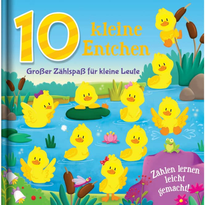 10 kleine Entchen - Großer Zählspaß für kleine Leute