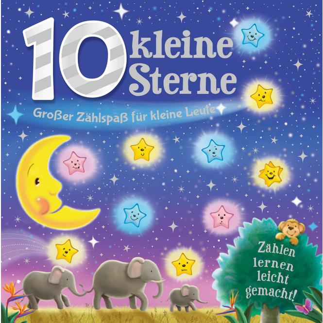 10 kleine Sterne - Großer Zählspaß für kleine Leute