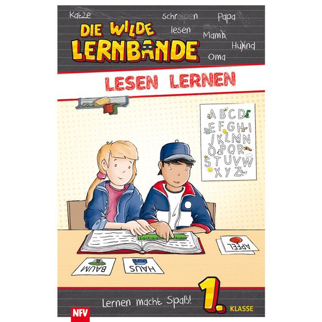 Lesen Lernen - Die wilde Lernbande - 1.Klasse