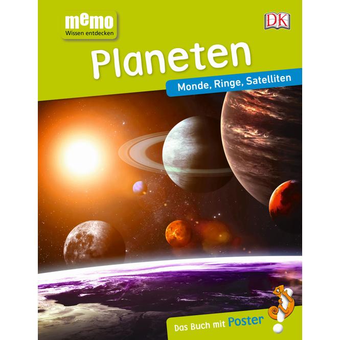 memo - Wissen entdecken - Planeten - Monde, Ringe, Satelliten