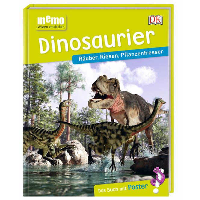 memo - Wissen entdecken - Dinosaurier - Räuber, Riesen, Pflanzenfresser