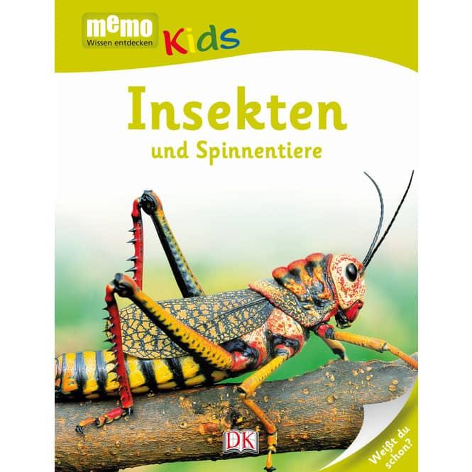 memo - Wissen entdecken - Kids - Insekten und Spinnen