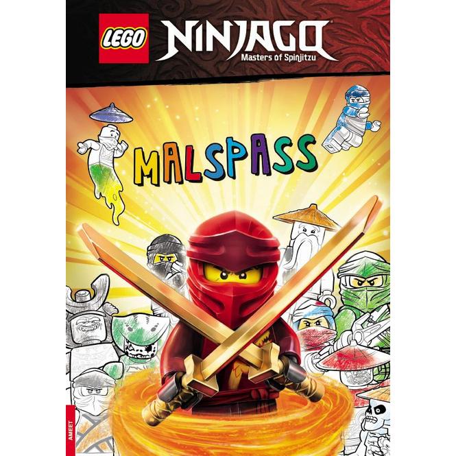 LEGO® NINJAGO® - Masters of Spinjitzu - Malspaß