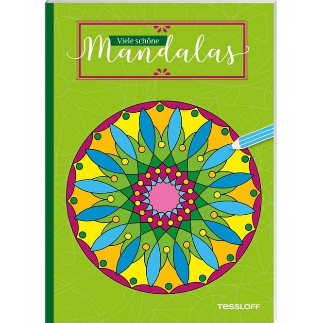 Viele schöne Mandalas