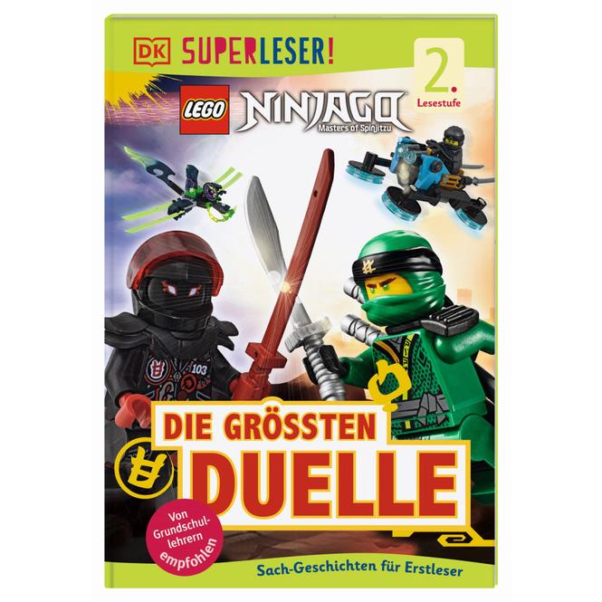 SUPERLESER! LEGO® NINJAGO® Die größten Duelle - 2.Lesestufe