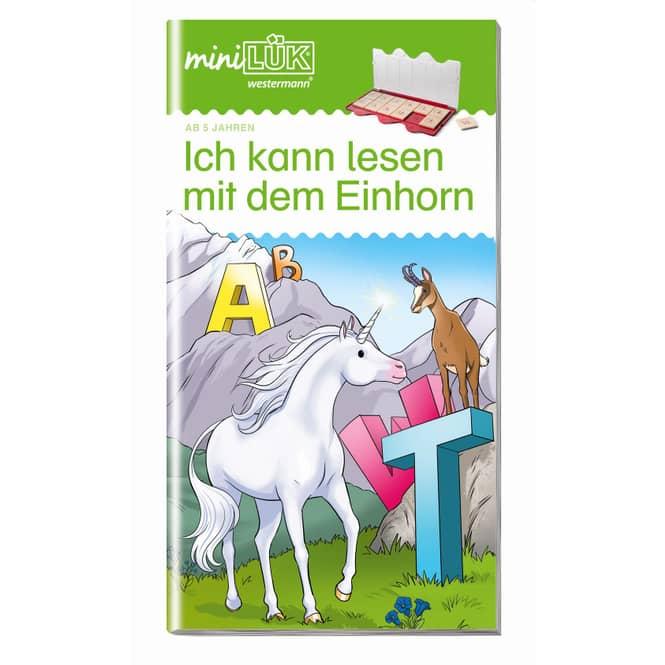 miniLÜK - Ich kann lesen mit dem Einhorn - Deutsch Vorschule/1.Klasse