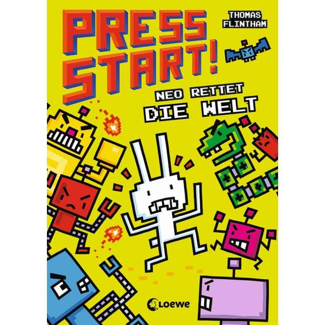 Press Start! - Neo rettet die Welt - Band 1
