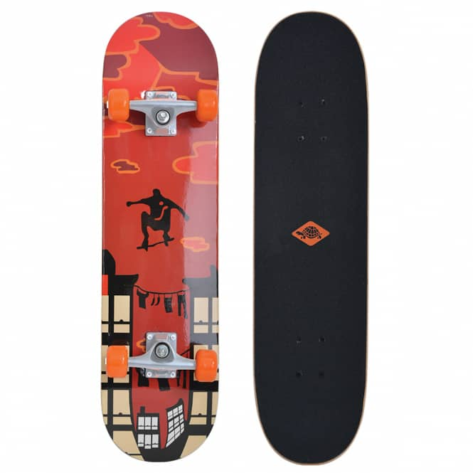 Skateboard - Kicker 31'' - Red Parkour