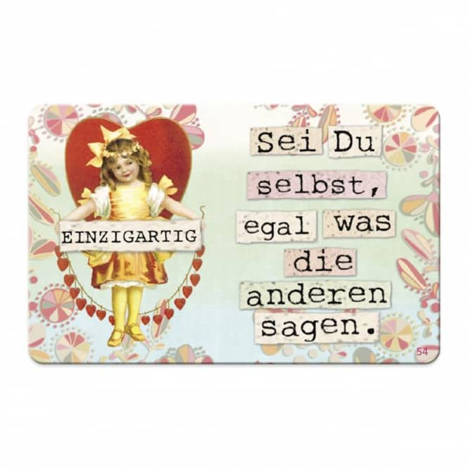Pocketcard - Einzigartig