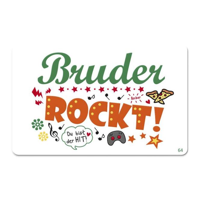 Pocketcard - Bruder