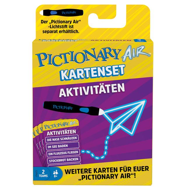 Pictionary Air - Erweiterung - Kartenset Aktivitäten - Mattel