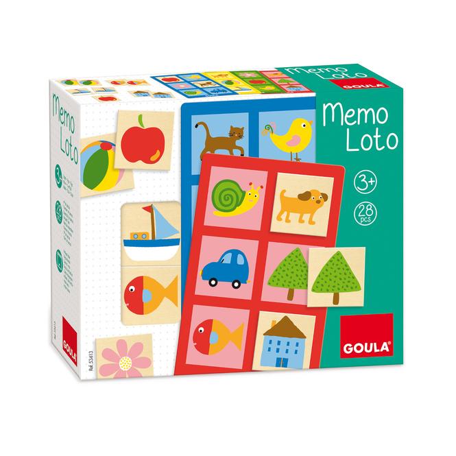 GOULA - Spiel - Memo Loto