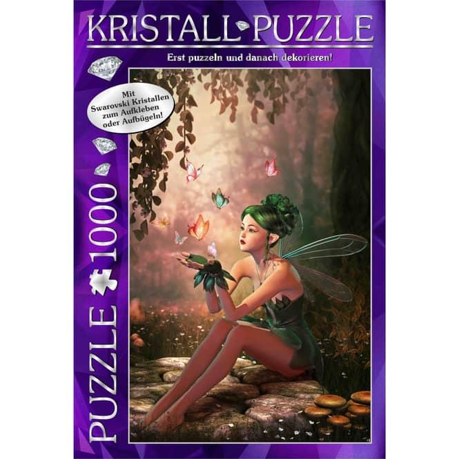 Swarovski Kristall-Puzzle - Fairy Forest - 1000 Teile