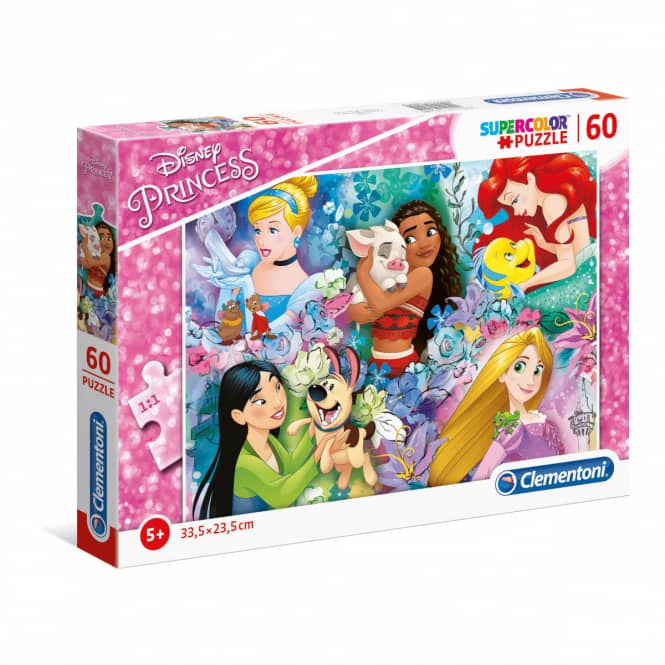 Disney Princesses - Puzzle - 60 Teile
