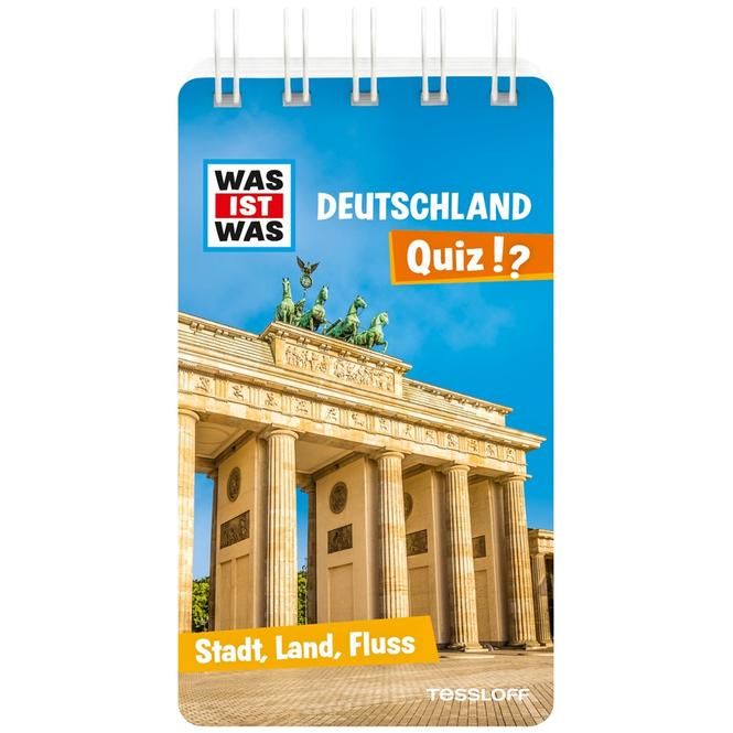 Was ist Was - Deutschland Quiz!? - Stadt, Land, Fluss