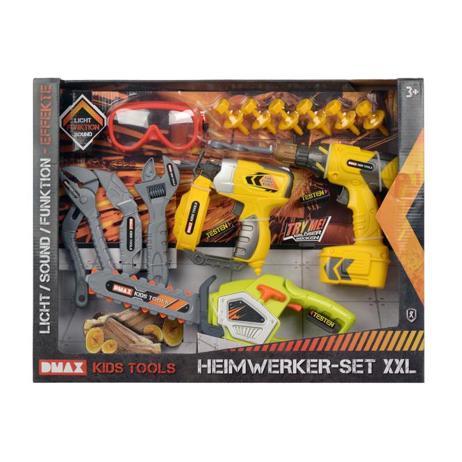 DMAX Kids Tools - Heimwerker-Set XXL