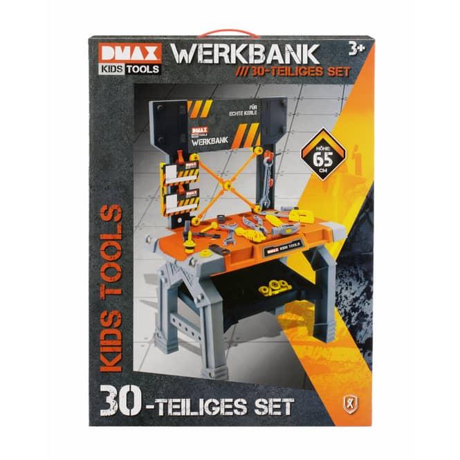 DMAX Kids Tools - Werkbank - 30teilig