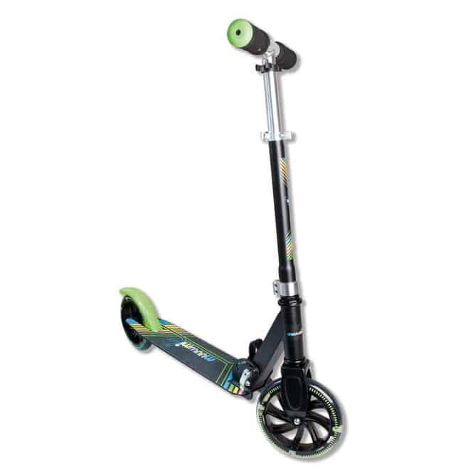 Alu Scooter - Muuwmi - Neon - grün/schwarz